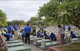 Gần 1.000 đoàn viên thanh niên tham gia tu tảo nghĩa trang liệt sĩ tỉnh Phú Yên