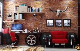 Ý tưởng trang trí phòng làm việc tại nhà hiện đại, phong cách