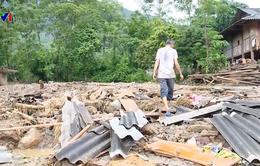 Mưa lớn ở Yên Bái làm 12 nhà dân bị sập đổ, hư hỏng