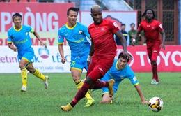 Nuti Café V.League 2018, S.Khánh Hòa BVN 0-0 CLB Hải Phòng: Chia điểm đáng tiếc