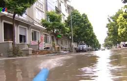 Khu đô thị An Khánh, Hà Nội thiếu hệ thống tiêu thoát nước