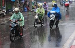 Hà Nội xuất hiện mưa dông, gió giật mạnh