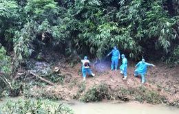 Tìm thấy thi thể cháu bé bị lũ cuốn trôi tại Lang Chánh
