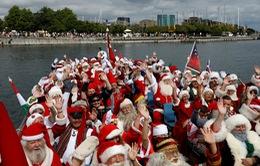 Sôi động đại hội thế giới của các ông già Noel