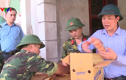Phú Thọ: Hỗ trợ nhu yếu phẩm cho người dân vùng lũ
