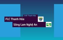 VIDEO: Tổng hợp trận đấu FLC Thanh Hóa 2-3 SLNA (Lượt đi bán kết Cúp QG - Sư tử trắng 2018)