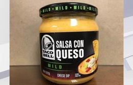 Thu hồi sản phẩm phô mai của Taco Bell vì nguy cơ gây ngộ độc