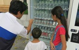 Hà Nội sẽ đưa vào vận hành 1.000 máy bán hàng tự động