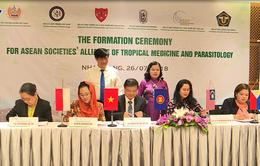 Ký kết thành lập Liên hiệp hội bệnh nhiệt đới và ký sinh trùng khu vực Đông Nam Á