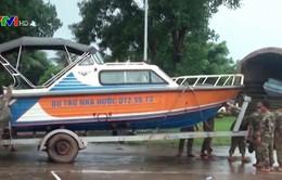 Bộ Tư lệnh Quân khu 5 hỗ trợ người dân Lào khắc phục sự cố vỡ đập thủy điện