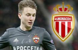 """Chính thức: """"Phũ"""" Chelsea, Golovin ký hợp đồng với Monaco"""