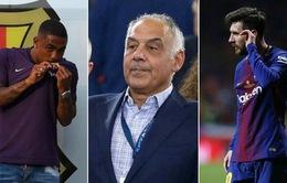 Bị cướp Malcom, AS Roma đòi Barcelona trả... Messi