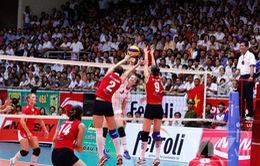 VTV Cup 2011: ĐT bóng chuyền nữ Việt Nam đứng thứ 3 chung cuộc