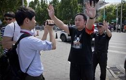Phong tỏa khu vực Đại sứ quán Mỹ tại Trung Quốc sau vụ nổ