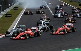 Các tay đua hướng tới Grand Prix Hungary