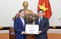 Việt Nam hỗ trợ Lào 200.000 USD khắc phục sự cố vỡ đập thủy điện