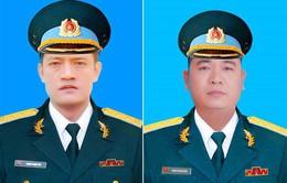 Bộ trưởng Bộ Quốc phòng truy thăng quân hàm cho hai phi công Trung đoàn 921 hy sinh
