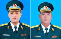 Cấp Bằng Tổ quốc ghi công cho 2 phi công hy sinh khi bay huấn luyện