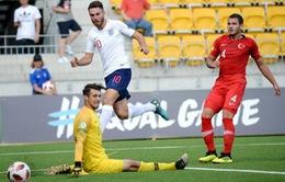 Thua sốc 0-3, tuyển trẻ Anh trở thành cựu vương U20 World Cup ngay từ vòng loại
