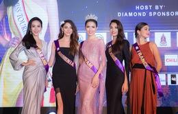 Phan Thị Mơ nổi bật bên dàn thí sinh Hoa hậu Đại sứ Du lịch thế giới 2018