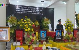 Trang trọng Lễ truy điệu 2 phi công Su-22 hy sinh tại Nghệ An