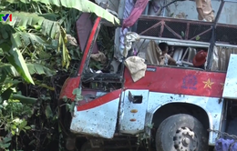 Liên tiếp xảy ra tai nạn giao thông nghiêm trọng trên đường đèo dốc