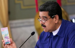 Venezuela chính thức đổi tiền, xóa 5 số 0 trên đồng Bolivar vào ngày 20/8