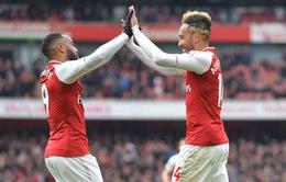 "Lacazette muốn lập ""song tấu"" với Aubameyang tại Arsenal"