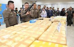 Thái Lan thu giữ lượng lớn ma túy trị giá hơn 22 triệu USD