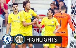 VIDEO: Tổng hợp diễn biến trận đấu Chelsea 1-1 (pen 5-4) Inter Milan (ICC 2018)