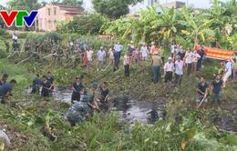 Đà Nẵng ra quân hưởng ứng Tuần lễ nạo vét khơi thông cống rãnh năm 2018