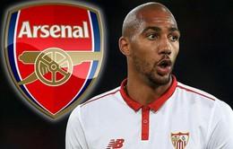 """Arsenal """"ra rìa"""" trong cuộc đua giành chữ ký Steven N'Zonzi"""
