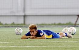 ĐT U23 Việt Nam: Hồng Duy dính chấn thương, có khả năng chia tay sớm ASIAD 2018
