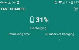 Ứng dụng giúp rút ngắn thời gian sạc pin trên smartphone