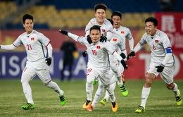 Giải bóng đá quốc tế U23 - 2018 được tường thuật trực tiếp trên sóng VTV