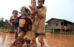Cộng đồng người Việt Nam tại Trung Lào ủng hộ sự cố vỡ đập thủy điện