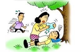 Phòng ngừa say nắng, say nóng cho trẻ