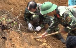 Phát hiện 7 hài cốt liệt sĩ trong lúc làm vườn tại Đồng Nai