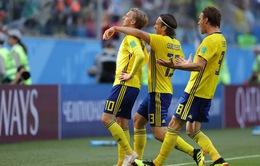KẾT QUẢ Thuỵ Điển 1–0 Thuỵ Sĩ: Forsberg ghi bàn duy nhất đưa Thuỵ Điển vào tứ kết FIFA World Cup™ 2018