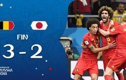 """Chấm điểm ĐT Bỉ 3 – 2 ĐT Nhật Bản: khi """"kép phụ"""" làm lu mờ """"kép chính"""""""