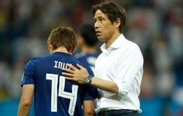 HLV ĐT Nhật Bản muốn ghi thêm bàn sau khi dẫn trước ĐT Bỉ 2-0