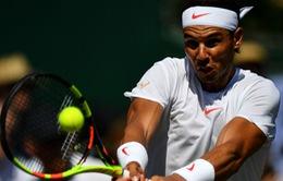 Rafael Nadal nhẹ nhàng vào vòng 2 Wimbledon 2018