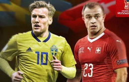 World Cup 2018, Thuỵ Điển – Thuỵ Sĩ: Kẻ tám lạng, người nửa cân! (21h00 ngày 03/7 trên VTV6)