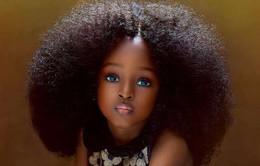 Mới 5 tuổi, bé gái Nigeria được mệnh danh là cô gái xinh đẹp nhất thế giới