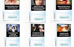 Hàn Quốc tăng cảnh báo trên bao thuốc lá
