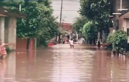 Mưa lớn gây lũ lụt tại Colombia