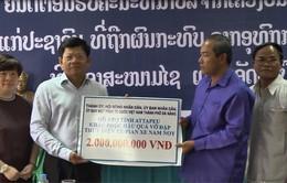 Đà Nẵng cứu trợ nạn nhân vụ vỡ đập thủy điện tại Lào