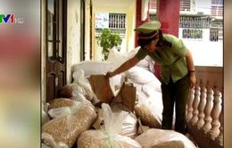 Nhiều vụ vi phạm kinh doanh hàng nông sản vừa bị xử lý