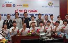 ASIAD 2018: ĐT bắn súng Việt Nam tập huấn tại Hàn Quốc