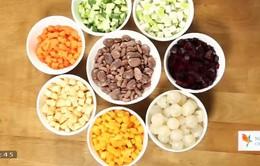 Cách chọn nguyên liệu cho món chay
